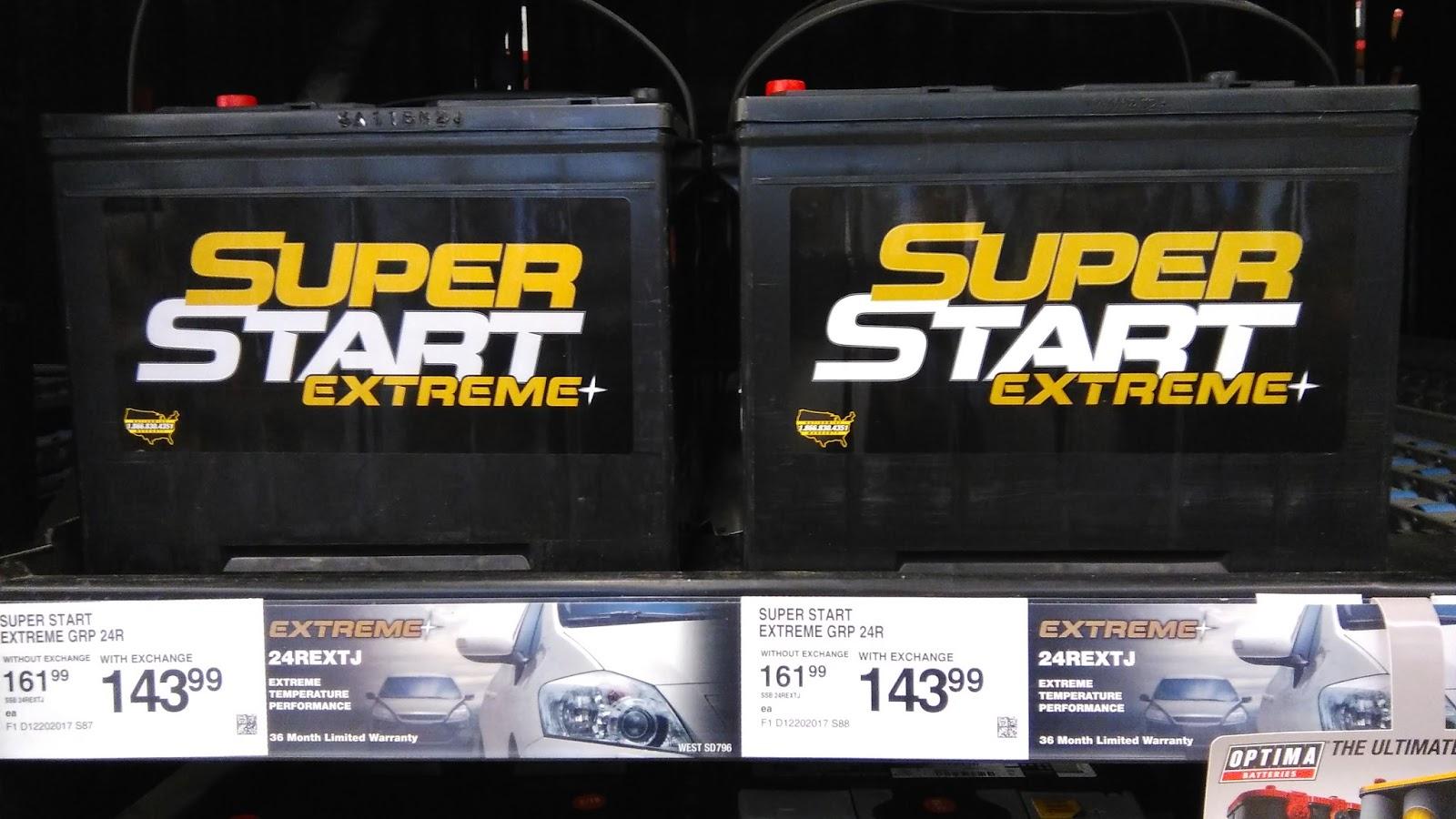 Tech Stuff: Car batteries