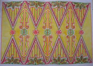 Ide 12 Pakem Motif Batik Bekasi Motif Bendo Dari Eddy Soewantoro
