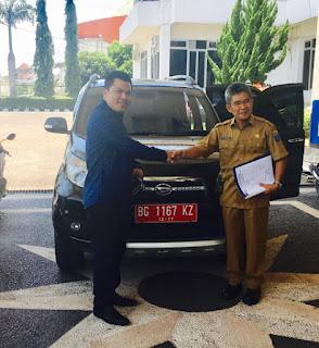 Subhan Ismail, Pertama Kembalikan Mobil Dinas