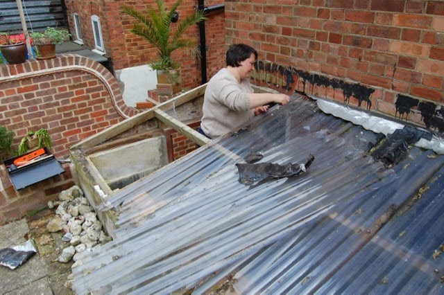 Corrugated Lean To Roof Or Words You Learn When You