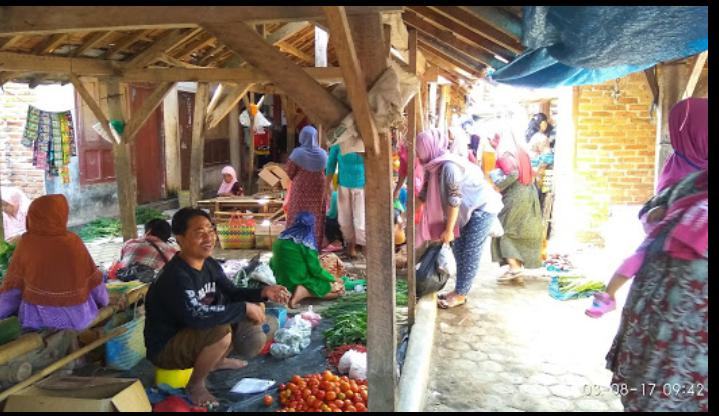 Pasar Srikaton Anak Tuha Lampung Tengah