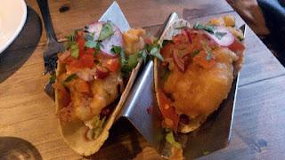 Baja fish tacos - El Cartel.