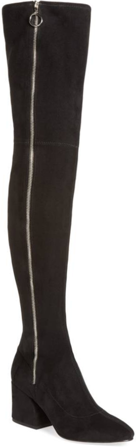 DOLCE VITA Vix Thigh High Boot in Black