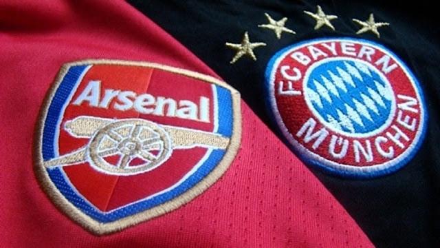 Arsenal vs Bayern Munchen