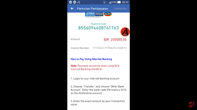 tutorial mengisi saldo iklan FB Ads
