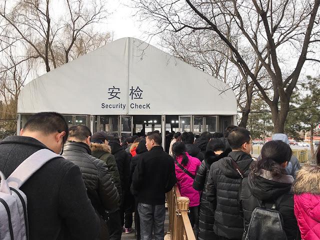 tiananmen square di china