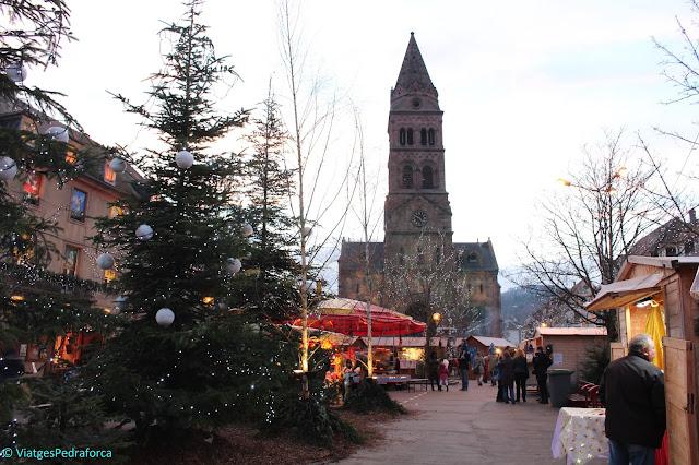 Mercats de Nadal, Parc natural des Ballons des Vosges, Alsàcia, França, senderisme