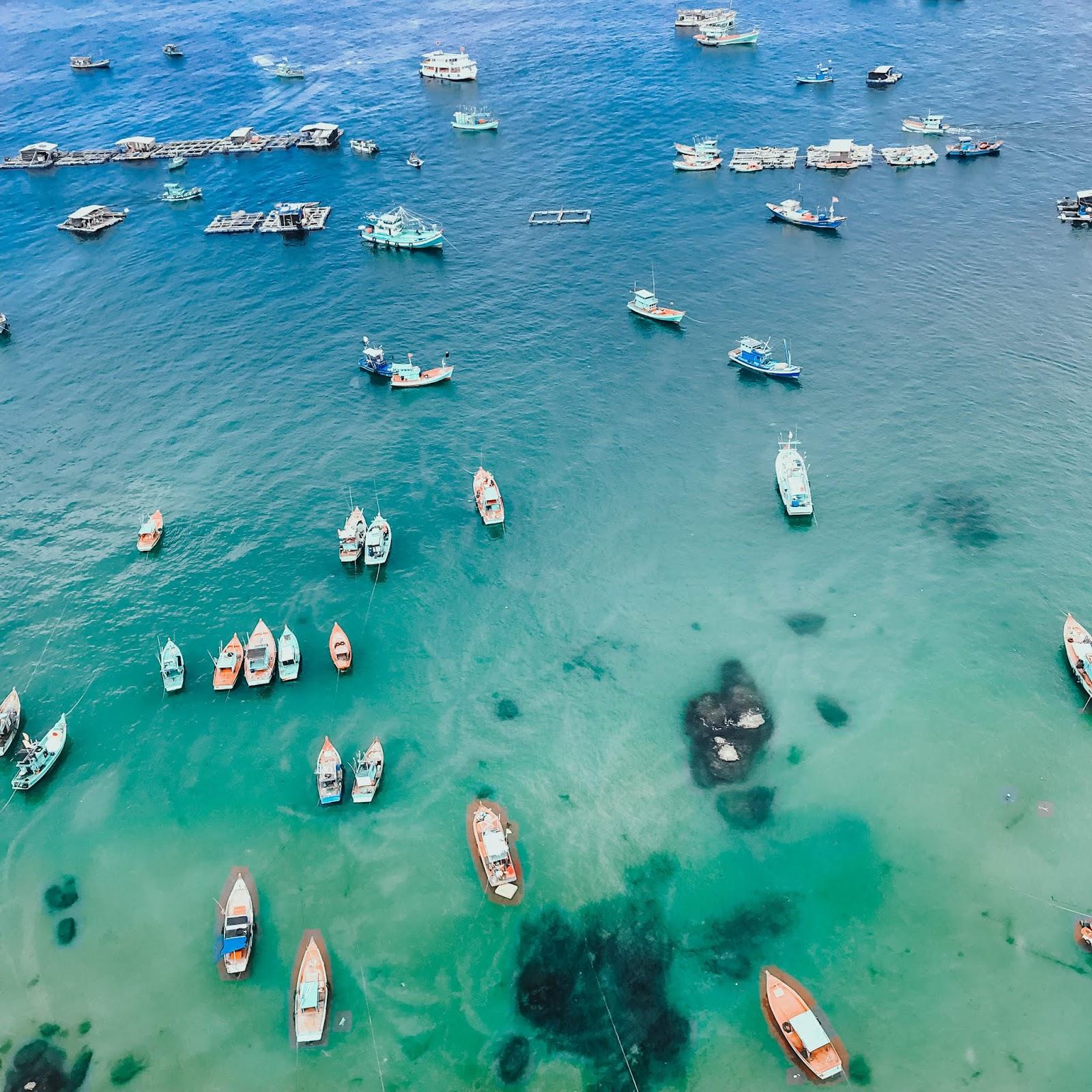 Hình ảnh biển đảo Hòn Thơm