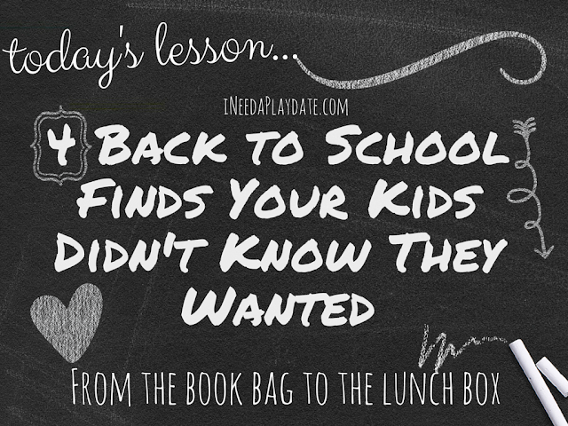 4 Back-to-School Finds Your Kids Didn't Know They Wanted