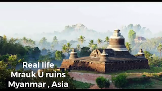 real life ruins exist in Myanmar Asia