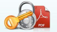 Rimuovere protezione PDF recuperare e disattivare la password