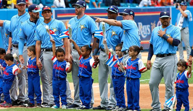 Las cuatro estaciones de un gran 2016 en el béisbol comenzaron con el histórico viaje a La Habana de los Tampa Bay Rays