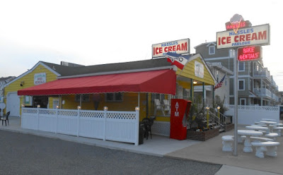 Hassles Ice Cream Parlour in Wildwood New Jersey