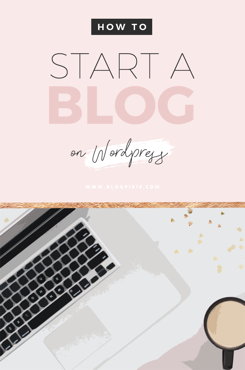 how to start a blog WordPress beginners Australia