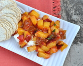 Savory Peach Appetizer