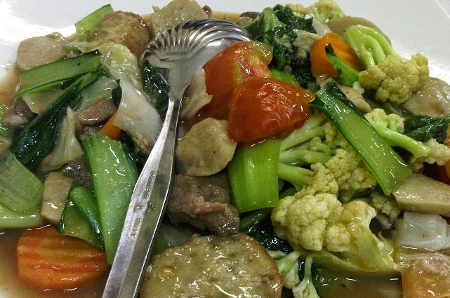 Resep Capcay Sayur Kuah Kental Pedas Anekamasakan