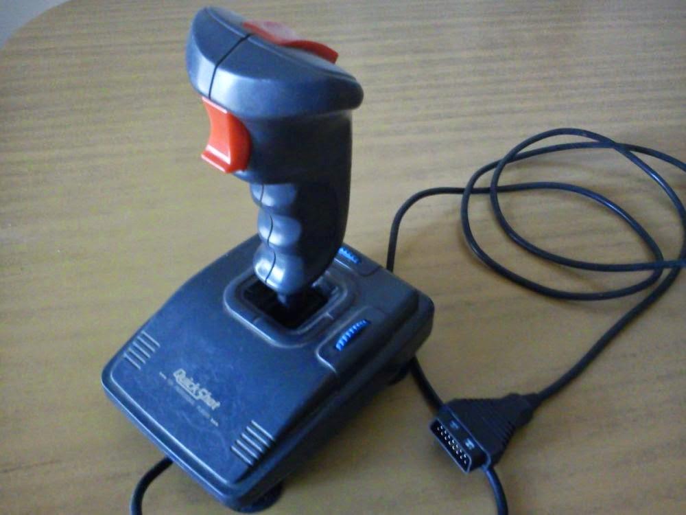 """joysticks Quickshot tipo """"simulador de vuelo"""" para PC"""