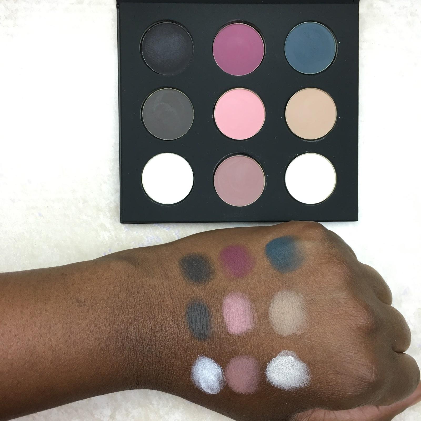 makeup forever artist palette volume 4 swatches prettyprchick com