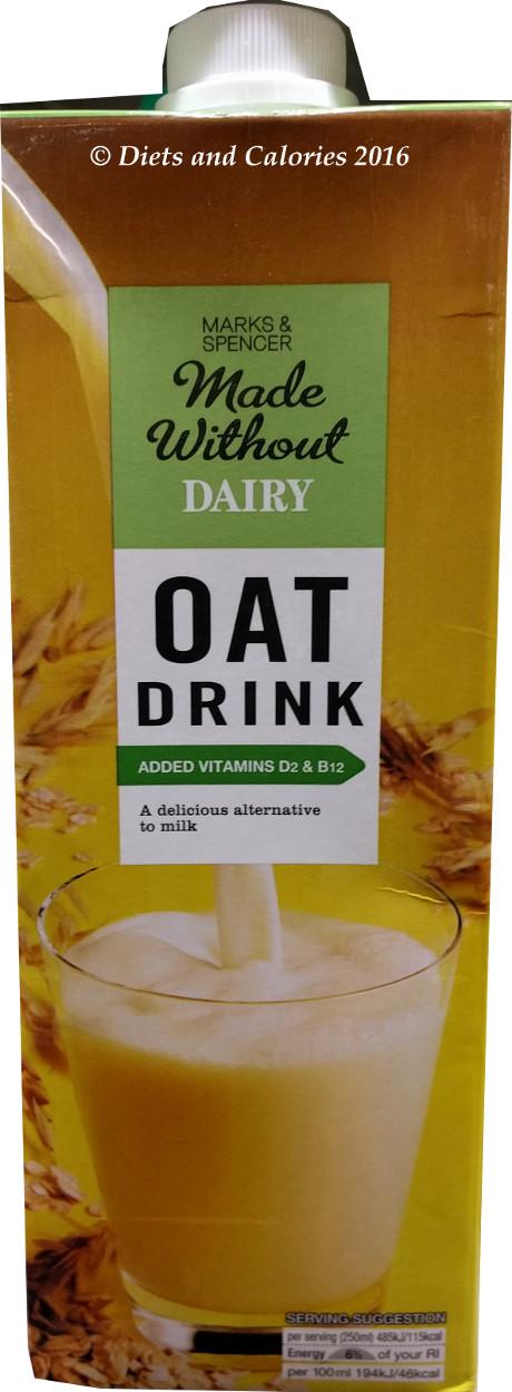 Oat Drink Alternative To Milk