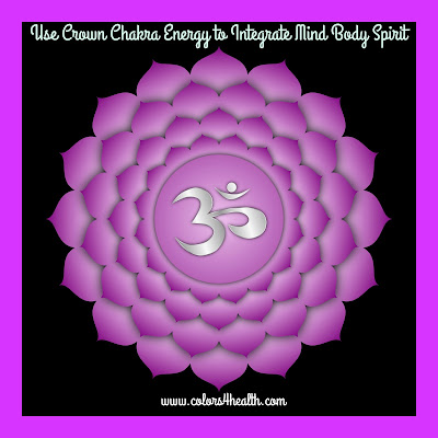 Crown Chakra and Purple Color Energy at Colors 4 Healtht