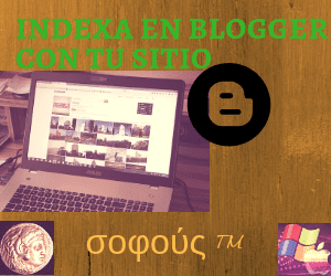 SEO: Cómo indexar con un blog de Blogger