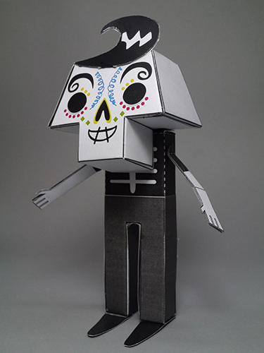 Paper toy: Esqueleto