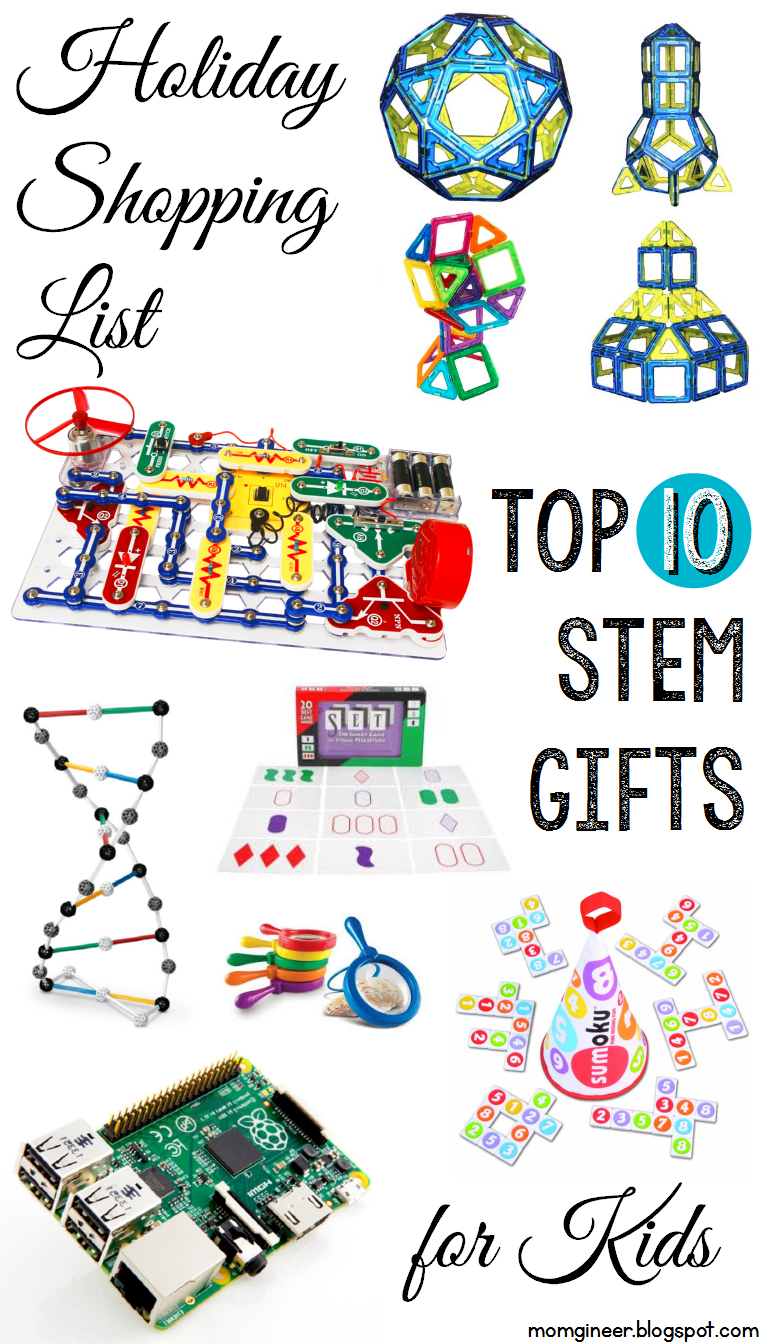 Holiday Shopping List Top 10 Stem Gifts For Kids Momgineer The 2015 Christmas Of Best Toys Your Little Nerds And Find Even More Ideas With An Engineering Twist