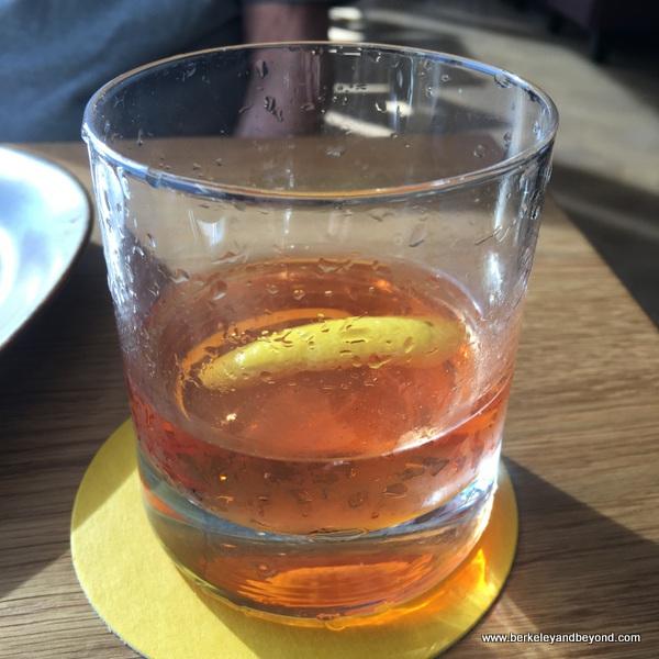 Sazerac cocktail at Limewood Bar & Restaurant at the Claremont Club & Spa, a Fairmont Hotel in Berkeley, California