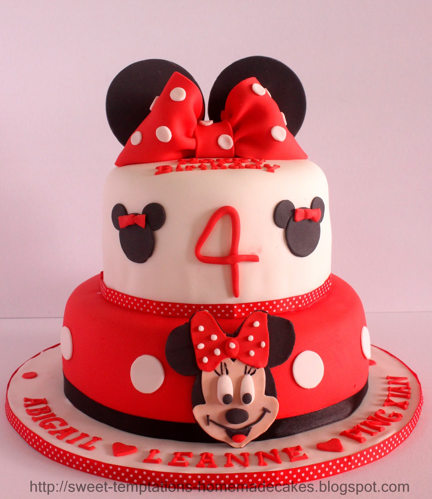Sweet Temptations Homemade Cakes Amp Pastry 2 Tier Minnie