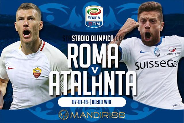 Prediksi Bola : AS Roma Vs Atalanta , Minggu 07 January 2018 Pukul 00.00 WIB