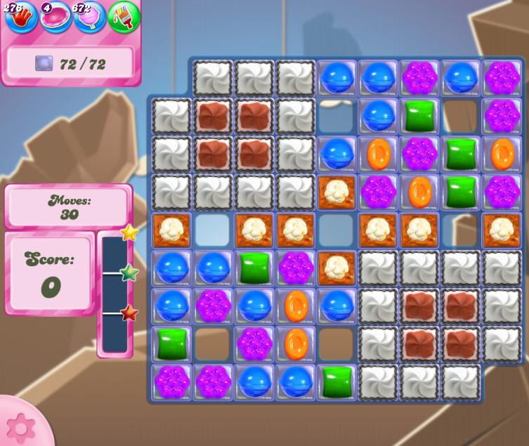 Candy Crush Saga level 2716