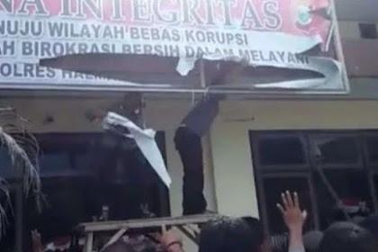 Viral Video Polisi Ngamuk Diduga Tuntut Honor Pengamanan Pemilu