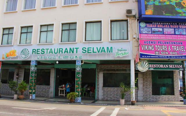 restoran selvam melaka