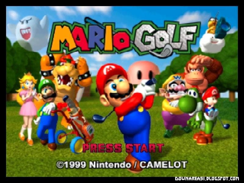Mario Golf Nintendo 64