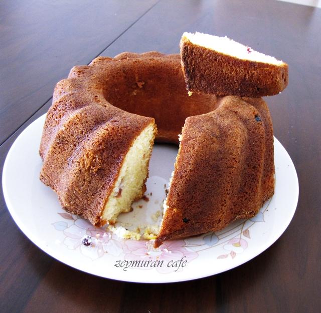 krem şanti kek tarifi