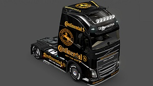Continental skin for Volvo 2012