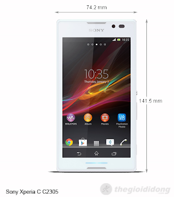 Sony Xperia C C2305 Priced At Virtually $ 300, Sample Two Sim, Two Wave