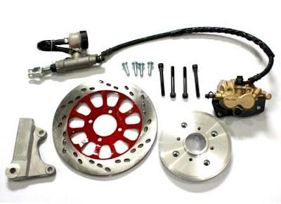Harga Cakram Set Motor Depan Belakang Lengkap