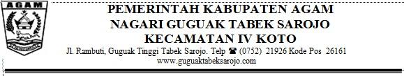 Syarat Perekrutan Calon Wali Jorong Guguak Randah