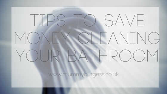 Tips Saving Money Cleaning your Bathroom