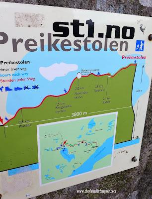 PREIKESTOLEN – Stavanger Norwegia, vindex tengker