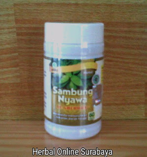Jual kapsul Sambung Nyawa 60 Kapsul obat darah tinggi  di Surabaya