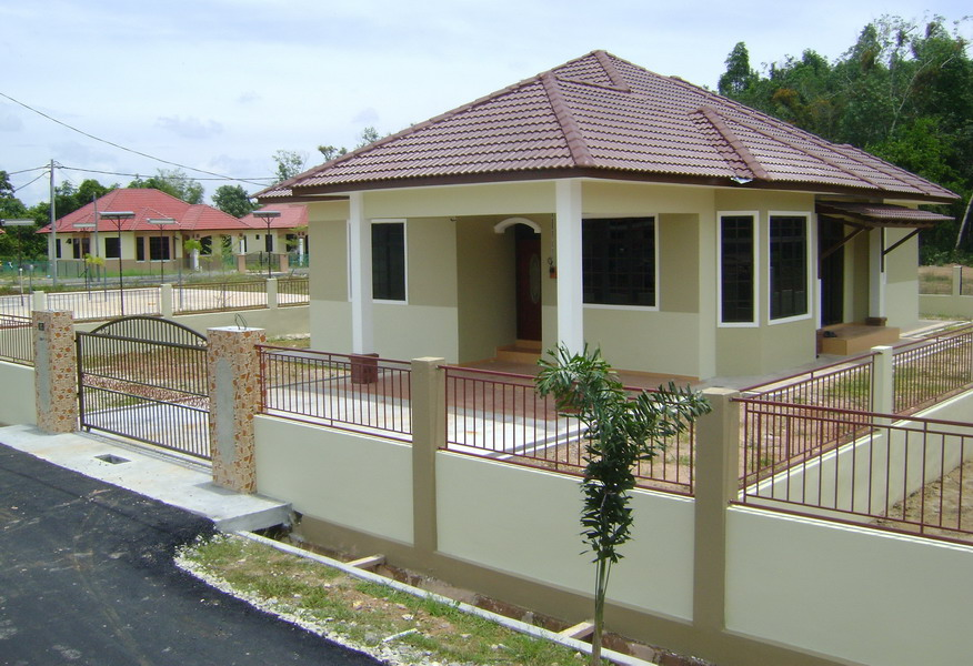 Plan Rumah Kampung Moden 4bilik Design Rumah Terkini