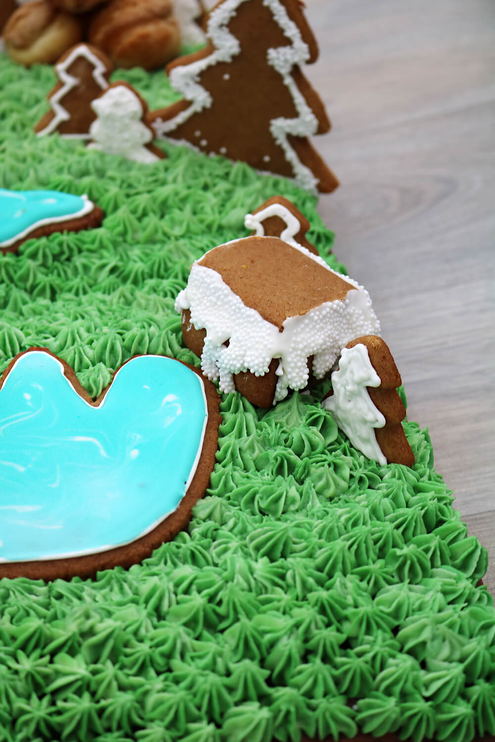 Central Park Landscape Cake | Bake Off Bake Along | Take Some Whisks
