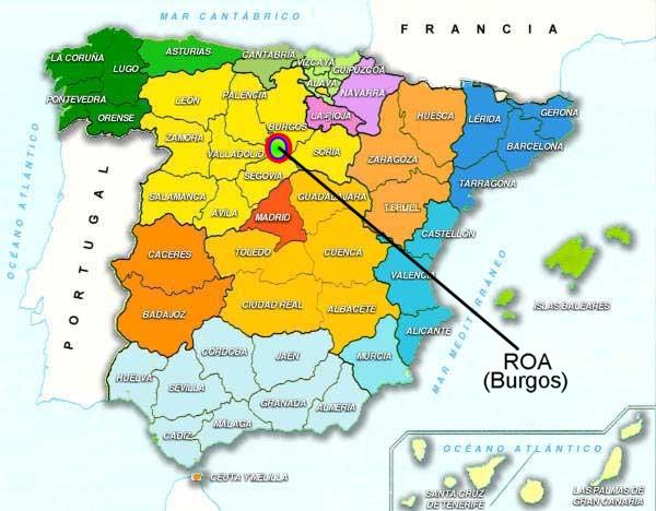 mérida espanha mapa Degustação DO Ribera del Duero   Visão Geral ~ Blog Vinho SIM mérida espanha mapa