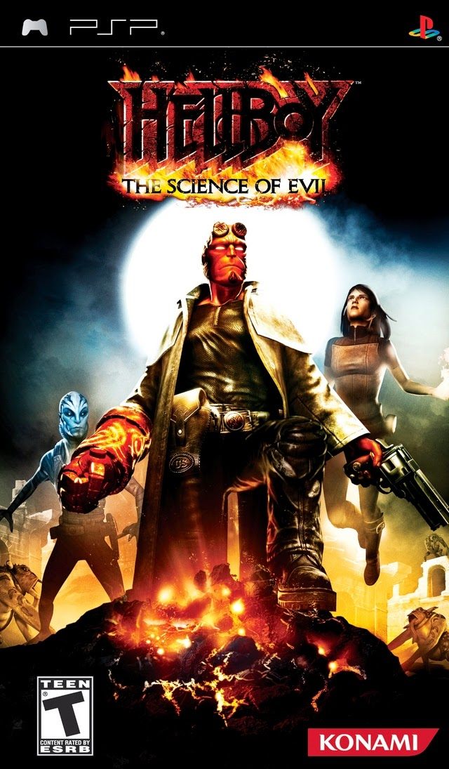 HELLBOY THE SCIENCE OF EVIL PSP ISO ANDROID FREE GAME [PSP+PPSSPP]