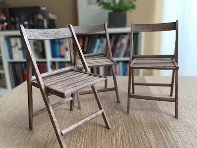 Tutorial wooden folding chairs