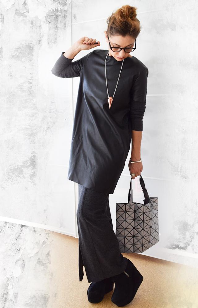 Ein Layerlook aus zwei Kleidern
