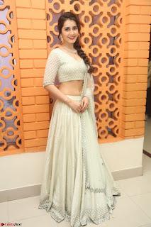 Raashi Khanan looks stunning in Crop Top Deep neck Choli Ghagra Transparent Chunni WOW ~  Exclusive Celebrities Galleries 073.JPG