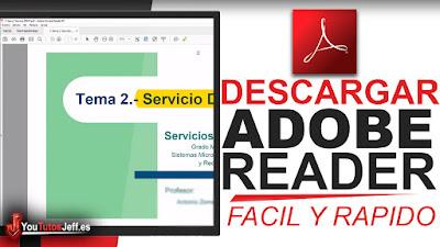 Como Descargar Adobe Reader Ultima Version 2018 Gratis Español